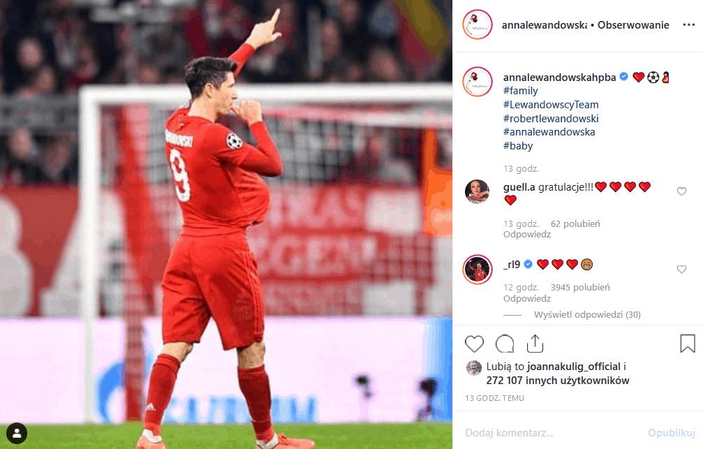 Ciąża, w której jest Anna Lewandowska potwierdzona poprzez Instagram! W Bayern Monachium święto. Robert Lewandowski jest tatą, a Klara Lewandowska siostrą!