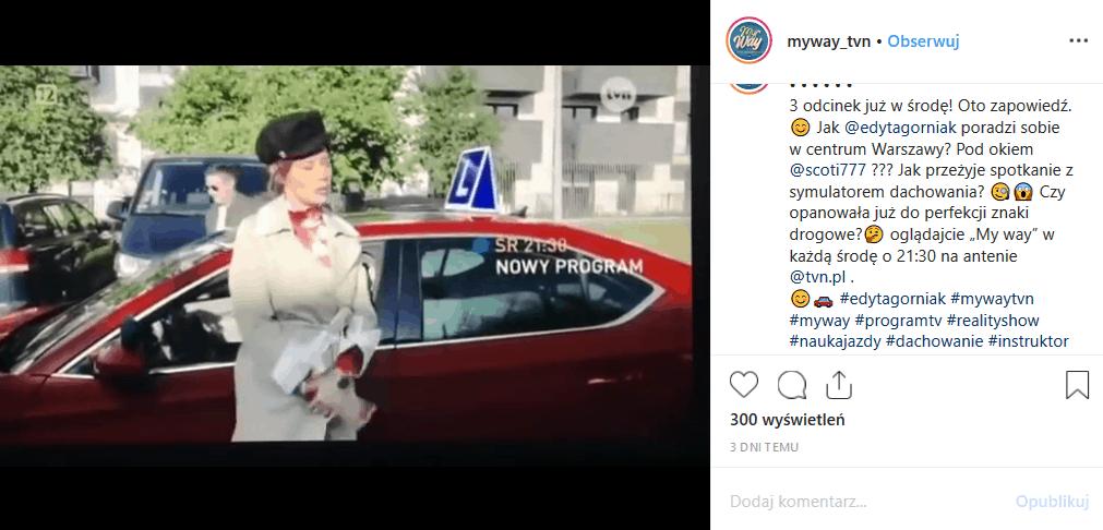 """3 odcinek """"My way"""" (TVN) już dziś. Edyta Górniak ponownie ruszy na ulice. Co spotka gwiazdę konkursu Eurowizja, gdzie śpiewała hit """"To nie ja""""?"""