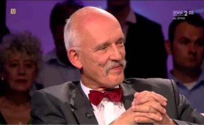 Janusz Korwin Mikke i Joanna Senyszyn byli niedawno gośćmi programu (Polsat), który prowadzi Bogdan Rymanowski Jednym tematów było LGBT.