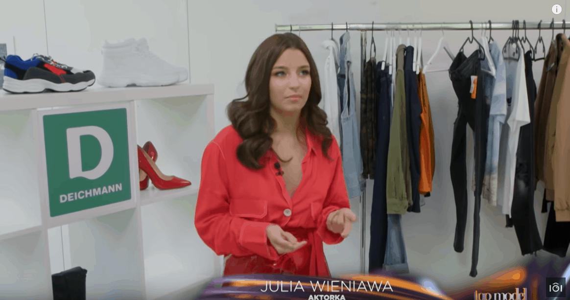 """Julia Wieniawa pokazała ciało w najnowszej sesji. Instagram oszalał na widok aktorki seriali """"Rodzinka pl"""" (TVP2) i """"Zawsze warto"""" (Polsat)"""