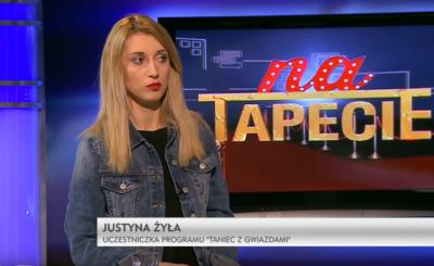 """Piotr i Justyna Żyła (""""Taniec z gwiazdami"""") rozstali się, a jej karierę znaczy wpadka za wpadką. Instagram śmieje się z niej na gali """"Mister Polski""""."""