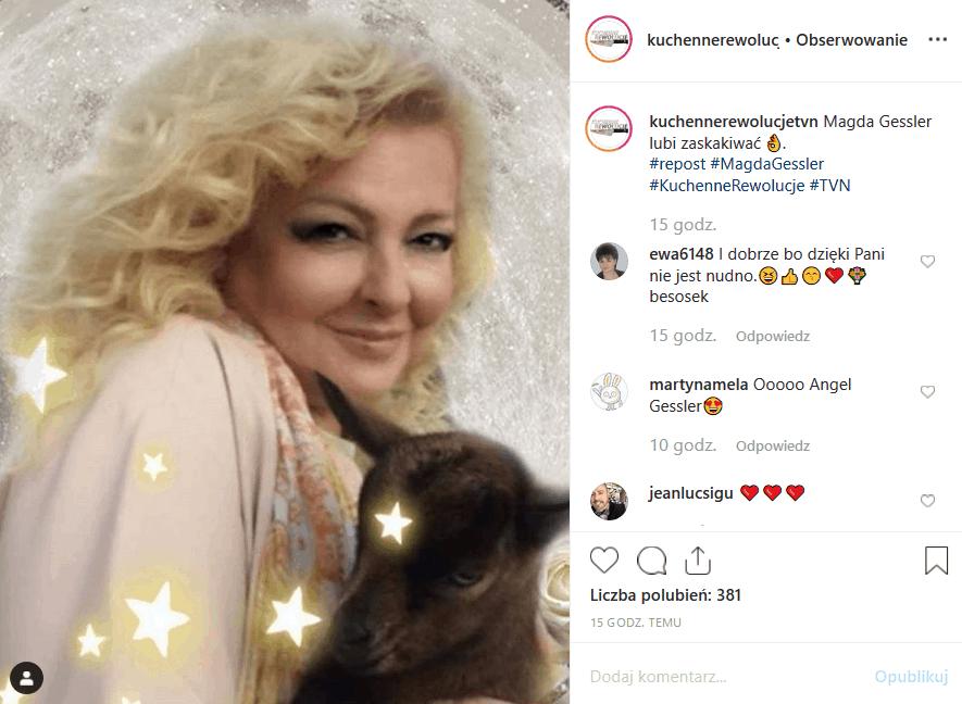 """21 listopada """"Kuchenne rewolucje"""" i Magda Gessler odwiedzą Toruń. Z zapowiedzi (Facebook) wynika, że Królowa TVN, jurorka """"MasterChef"""" będzie miała ciężko."""