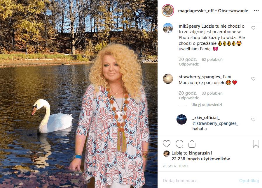 """Magda Gessler i wpadka w serwisie Instagram? Co takiego zrobiła Królowa TVN, prowadząca """"Kuchenne rewolucje"""" i jurorka """"MasterChef""""?"""