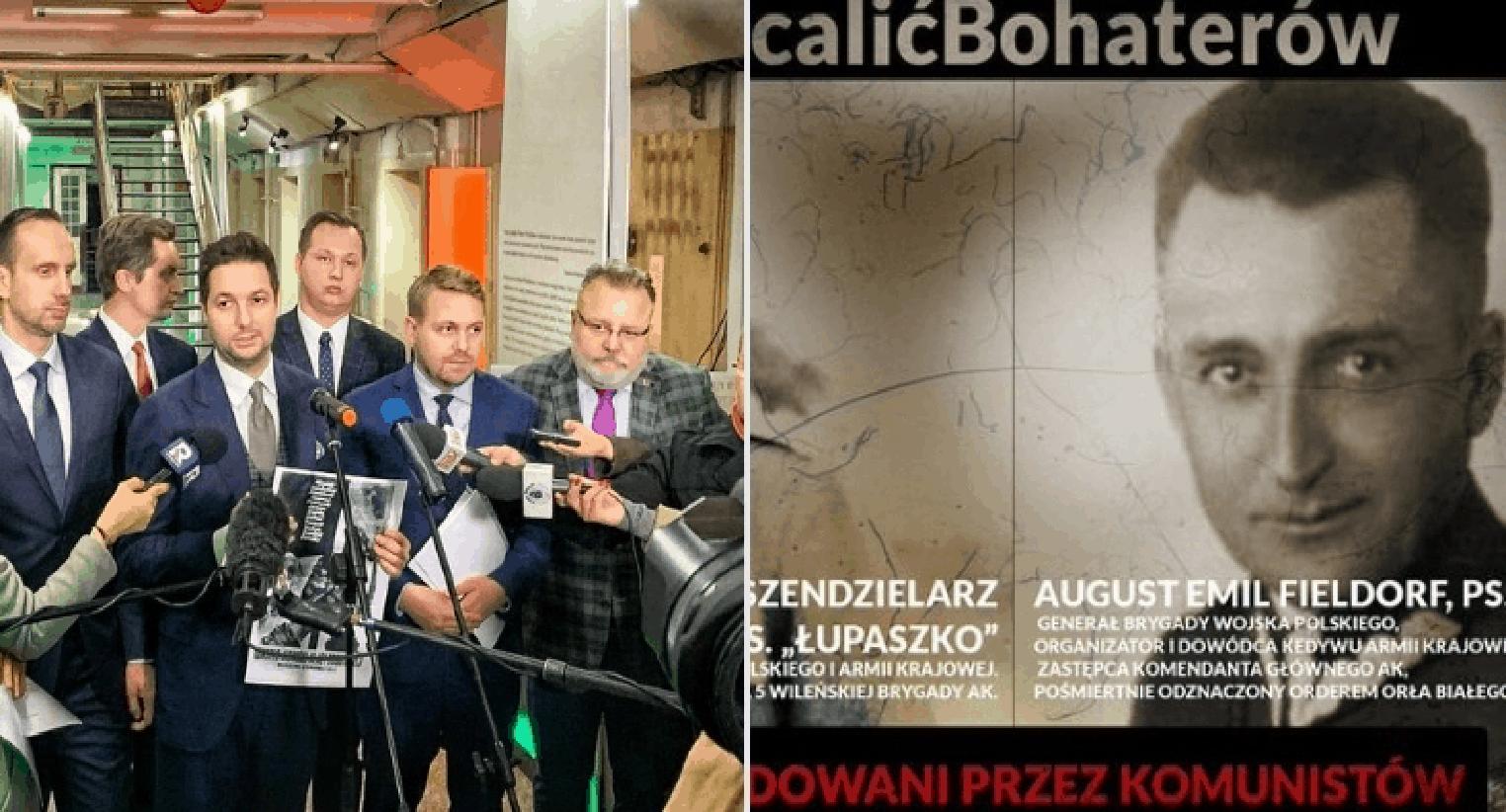 W poniedziałek w Warszawie europoseł partii Prawo i Sprawiedliwość (PiS) – Patryk Jaki poinformował o nowej akcji #OcalicBohaterow.