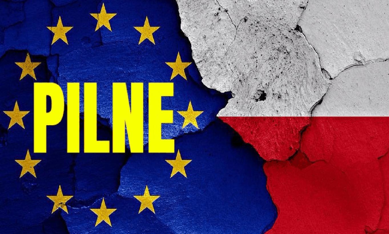 Ustawa Kagańcowa, Ministerswo Spraw Zagranicznych (MSZ) - Komisja Europejska uderza w Sąd Najwyższy, komentuje też Trybunał Konstytucyjny.