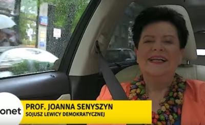 Joanna Senyszyn z Sojuszu Lewicy Demokratycznej (SLD) w ostatnim z wywiadów odniosła się do kwestii kandydata Lewicy na stanowisko prezydenta RP.