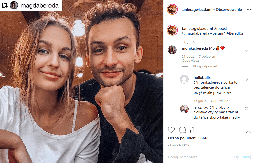 """8 listopada uczestnicy show """"Taniec z gwiazdami"""" (Polsat) powalczą o półfinał. Czy Barbara Kurdej Szatan awansuje? Facebook i Instagram jest podzielony."""