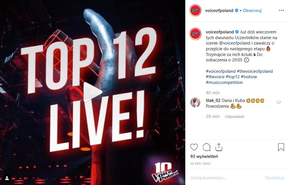 """16 listopada 2 LIVE w """"The Voice of Poland"""" (TVP2). Kogo doprowadzi do finału Kamil Bednarek, Margaret, Michał Szpak oraz Baron i Tomson?"""