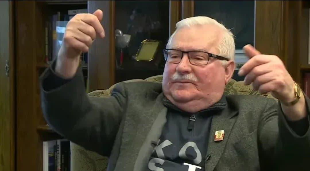 Lech Wałęsa to autorytet dla takich ugrupowań politycznych jak Platforma Obywatelska, Nowoczesna i Polskie Stronnictwo Ludowe, Sławomir Cenckiewicz...
