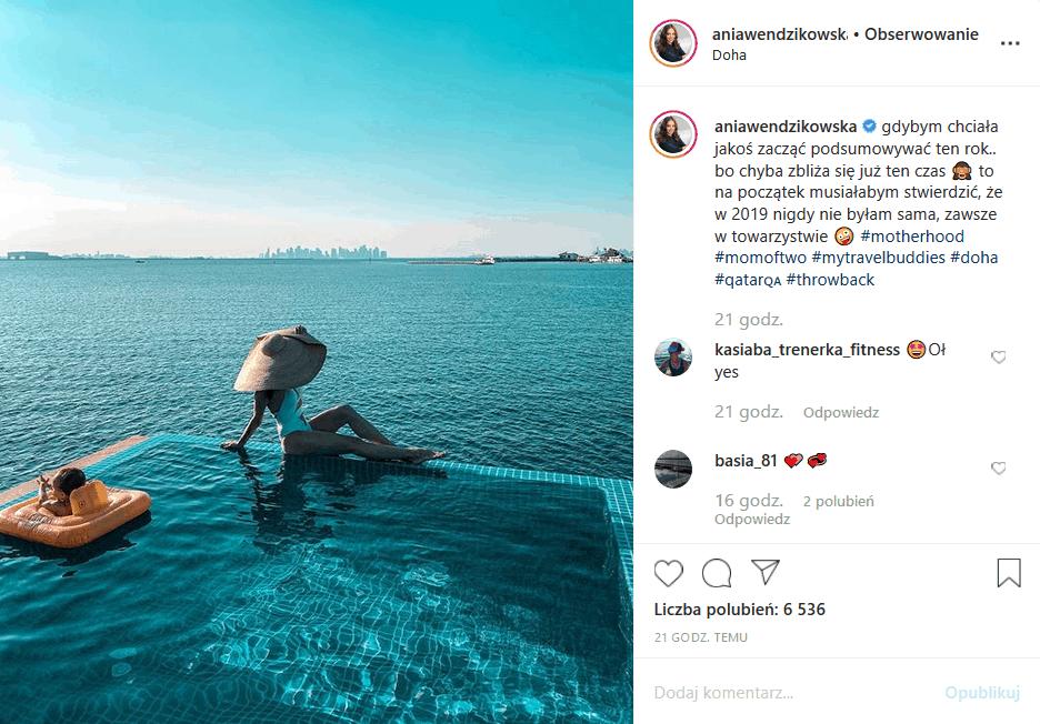 """Anna Wendzikowska (""""M jak miłość"""" TVP2) wrzuciła na Insta fotkę z wakacji, bowiem nadszedł czas podsumowań. Fani gwiazdy """"Dzień dobry TVN"""" są zachwyceni"""