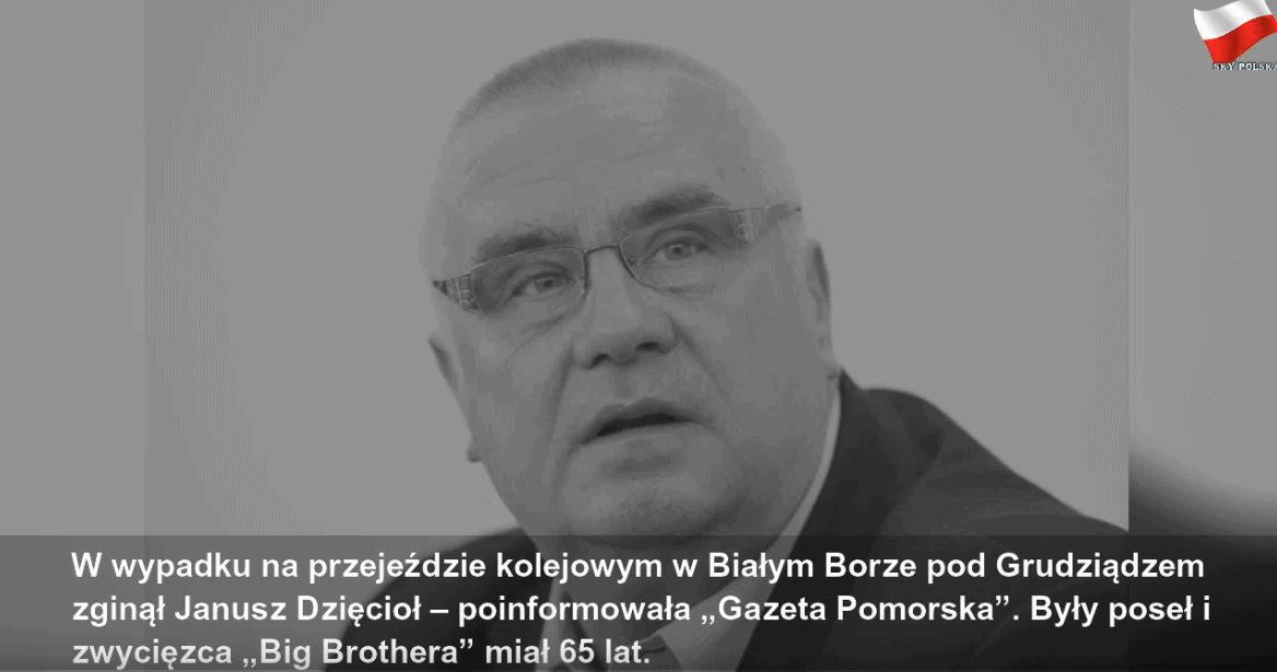 """Janusz Dzięcioł, zwycięzca I edycji programu """"Big Brother"""" (TVN) poniósł śmierć. Facebook i Instagram wspomina sympatcznego strażnika miejskiego i polityka"""
