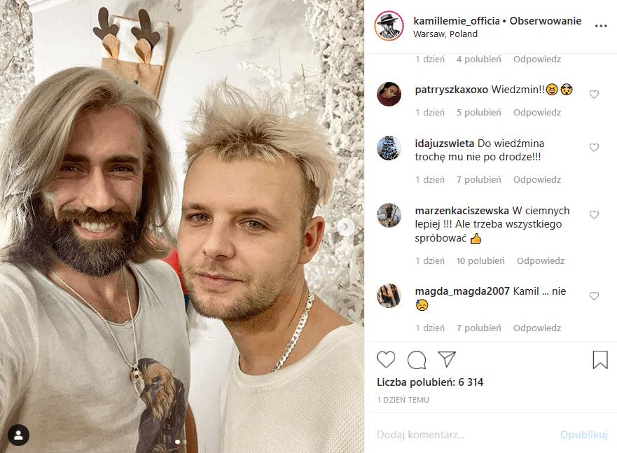 """Kamil Lemieszewski (""""Big Brother"""" TVN7) przeszedł zmianę, a część fanów na Insta mówi, że wyglada jak Wiedźmin, ale czy zrobi karierę jak Daniel Craig?"""