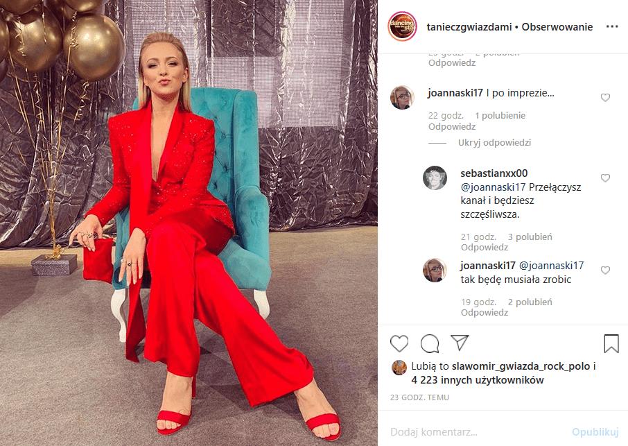 """Polsat poinformował na Insta, że Basia Kurdej Szatan poprowadzi Sylwestra. Gwiazda show """"Taniec z gwiazdami"""" i """"M jak miłość"""" (TVP2) ma jednak przeciwników"""
