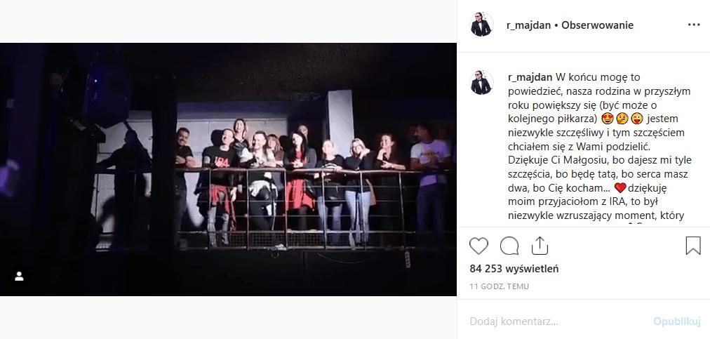 Radosław Majdan poinformował na Insta, że Perfekcyjna Pani Domu (TVN) spodziewa się dziecka. Upragniona ciąża Rozenek Majdan to wielkie szczęście dla pary