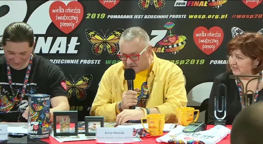 Jerzy Owsiak to lider i założyciel Wielkiej Orkiestry Świątecznej Pomocy (WOŚP). W tym roku jego organizacja będzie zbierać...