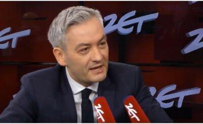 """Wybory prezydenckie 2020: """"Andrzej Duda powinien włączyć się w rozmowy w sprawie nowego budżetu: mówi Robert Biedroń - kandydat na prezydenta"""