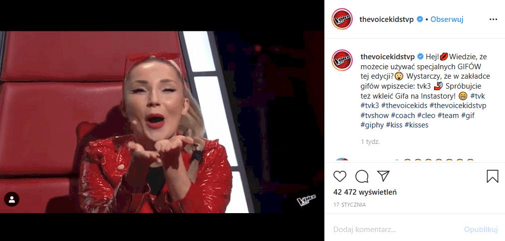 """Przesłuchania w """"The Voice Kids"""" (TVP2) sprawiły, że Cleo oniemiała, bowiem Wiktoria Zwolińska i Ewelina Kozub pokazały coś wielkiego"""