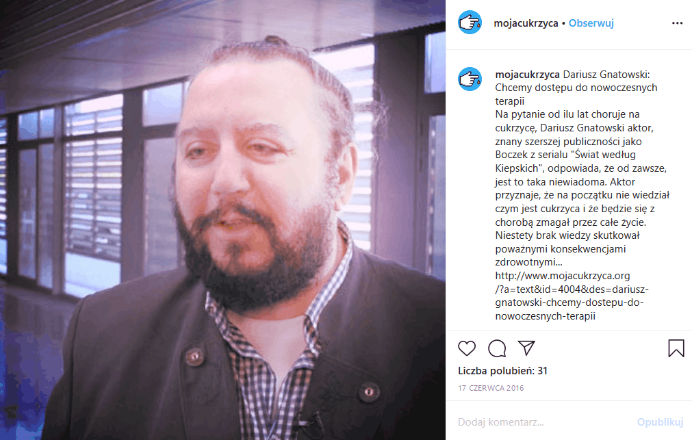 """Arnold Boczek (serial """"Świat według Kiepskich"""") jest chory! Dariusz Gnatowski, bez którego nie istnbieliby Kiepscy w Polsacie otworzył się przed mediami"""