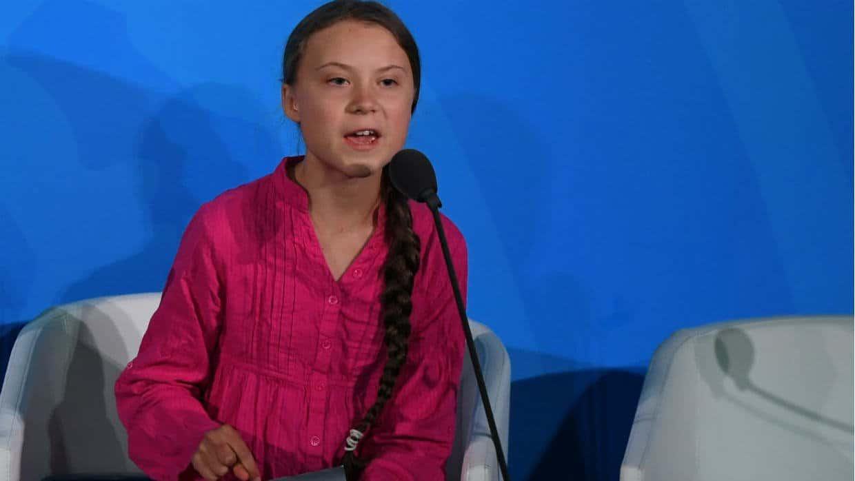 Na młoda aktywistkę jaką jest Greta Thunberg wylał się hejt.