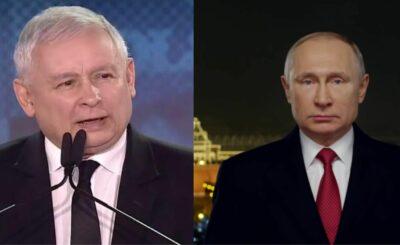 """Kaczyński upokorzył Putina - To usłyszały całe Niemcy: W Rosji poruszanie wywołał wywiad Jarosława Kaczyńskiego dla """"Bild"""" Czy Putin zareaguje?"""