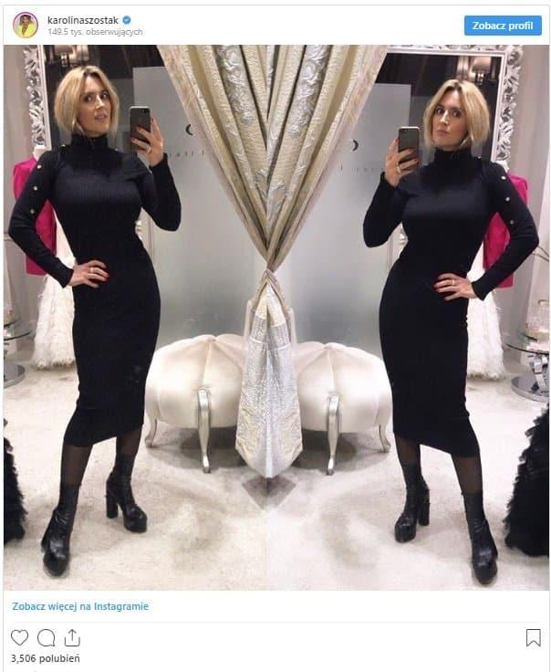 Karolina Szostak jest za szczupła - jej waga i figura powoli zaczynają martwić nie tylko widzów telewizji Polsat, ale i bacznych obserwatorów Instagrama