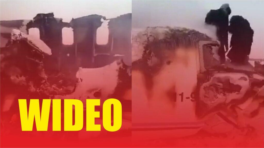 Tragiczne wieści, nie żyje 80 osób, katastrofa samolotu w Afganistanie w rejonie Ghazni. Reuters przekazał informacje o katastrofie lotniczej