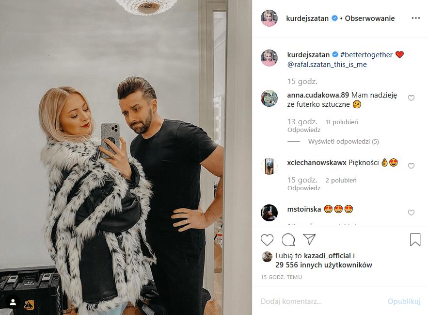 """Basi Kurdej Szatan przytrafiła się śmieszna wpadka na Insta. Fani gwiazdy """"M jak miłość"""" i show telewizji Polsat """"Taniec z gwiazdami"""" nie mają litości"""