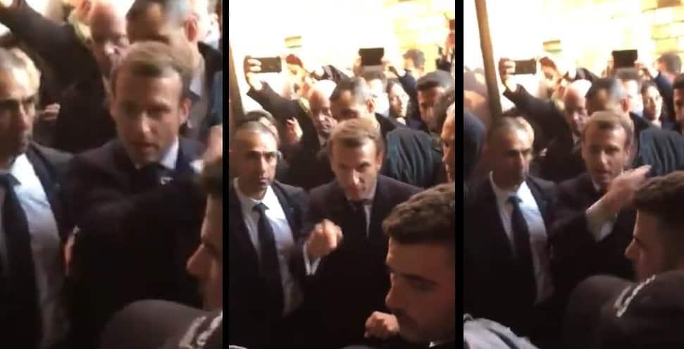 Skandal w Izraelu: Emmanuel Macron odwiedził Izrael z okazji wydarzenia jakim jest Światowe Forum Holokaustu, wywołał skandal podczas spaceru w Jerozolimie