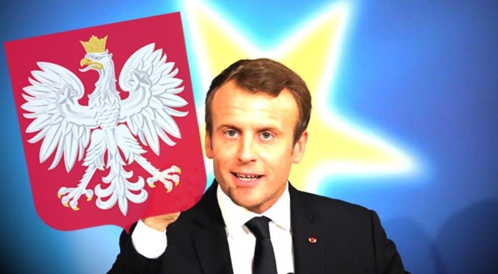 Wizyta Macrona w Polsce luty 2020, spotkanie Macron - Duda. Polskie media podały informację o tym że prezydent Francji Emmanuel Macron