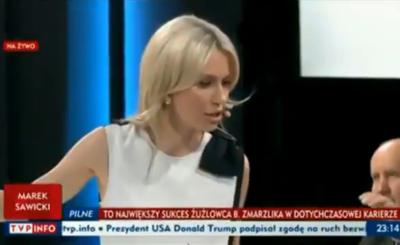 Magda Ogórek rok temu została zaatakowana przed TVP, przez sympatyków opozycji totalnej - teraz Dziennikarka TVP zeznaje w warszawskim sądzie