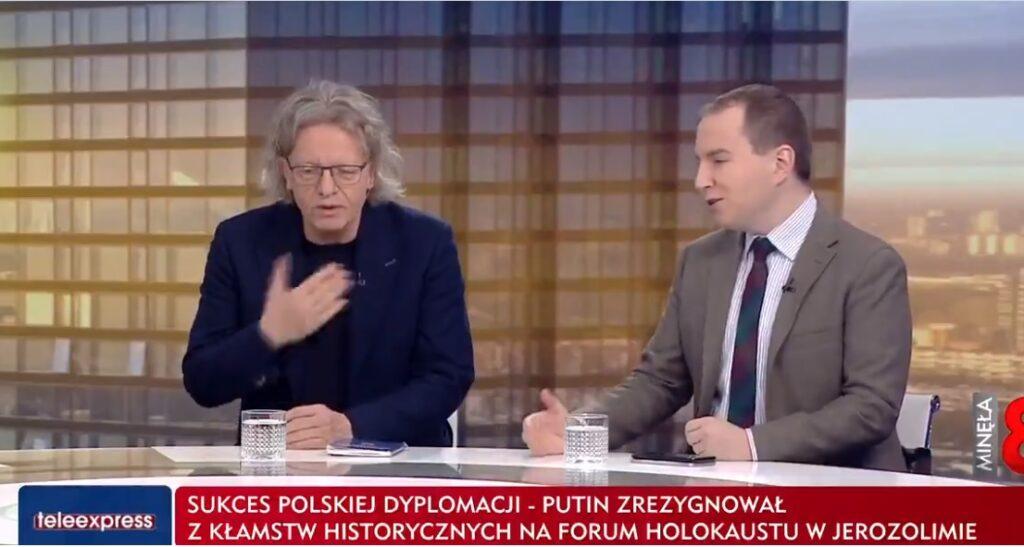 """Krzysztof Mieszkowski znany z partii Nowoczesna wystąpił w TVP """"Minęła 8"""" gdzie zaskoczył widzów teelwizji swoim wyznaniem o PRL"""