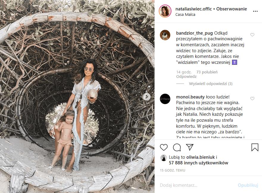 Natalia Siwiec wpadka - Modelka Playboy i CKM, Miss Euro 2012 nie zauważyła jednego szczegółu, wątpliwe że chciała pokazać się nago przy dziecku