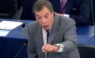 Brexit: Nigel Farage to bez wątpienia ojciec wyjścia Wielkiej Brytanii ze struktur Unii Europejskiej, na pożegnanie zwołał konferencję prasową