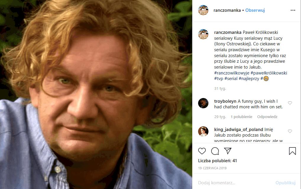 """Paweł Królikowski (""""Ranczo"""" TVP1) jest ciężko chory i walczy o życie. Ma już na koncie liczne poważne operacje i zakażenie, ale Królikowski wciąż walczy"""