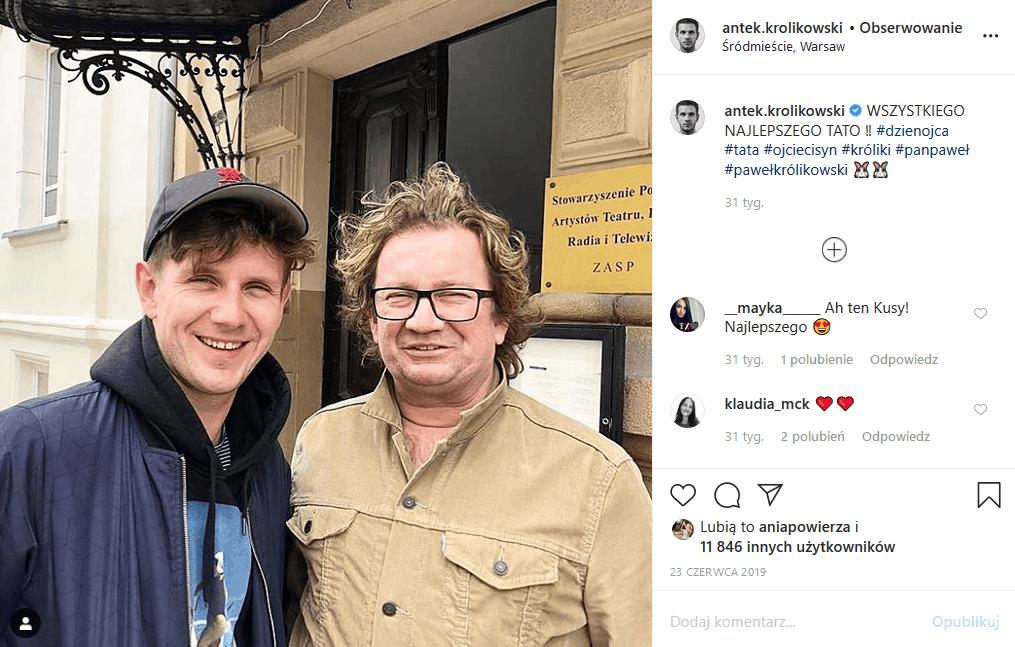 """Najnowsze informacje o Królikowskim są dobre, bo Polsat chce go w """"Twoja twarz brzmi znajomo"""". Rodzina Królikowskiego wciąż martwi się o stan jego zdrowia."""