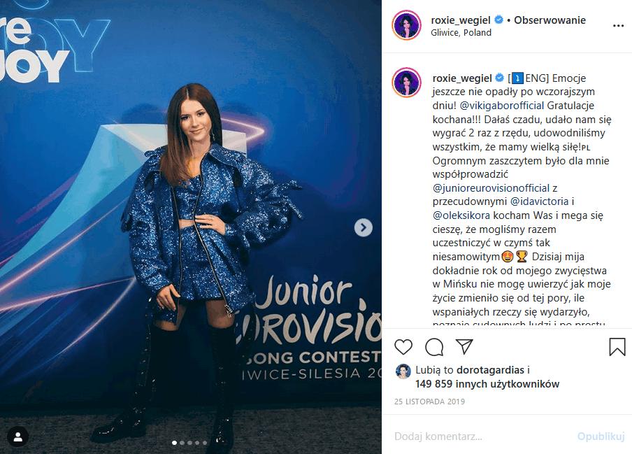 """Zarobki, jakie zarabiają Roksana """"Roxie"""" Węgiel i Viki Gabor (""""The Voice Kids"""" TVP2) porażają, bo laureatki """"Eurowizja Junior"""" kasują tysiące za 1 koncert!"""