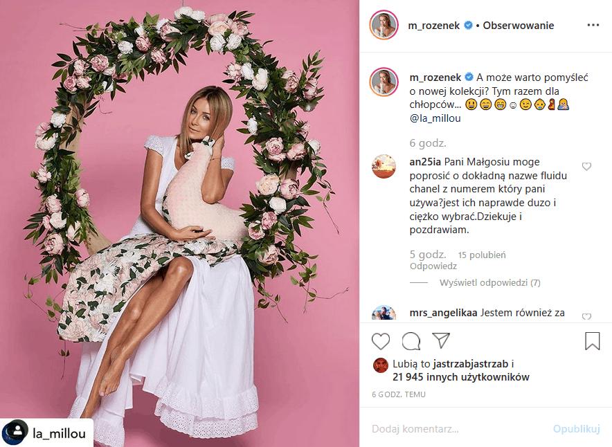 Ciąża Rozenek Majdan znów króluje na Insta, bowiem Perfekcyjna Pani Domu (TVN) poinformowała fanów o płci dziecka. Radosław Majdan jest szczęśliwy