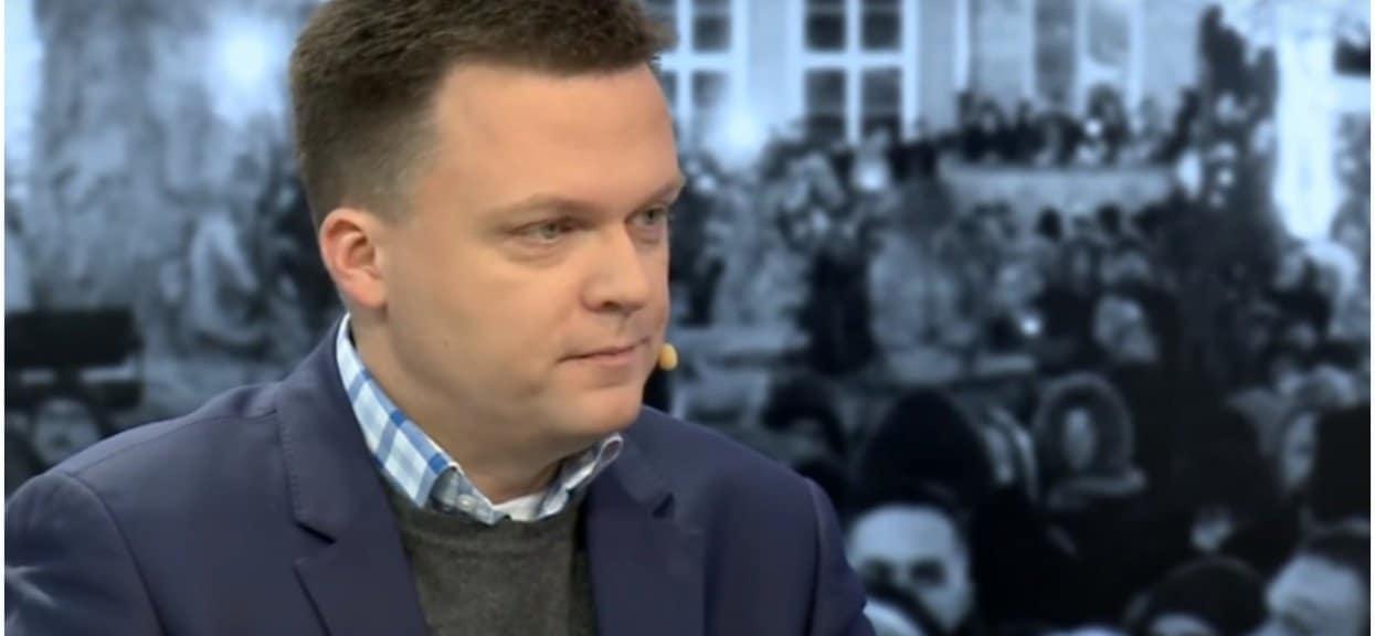 Szymon Hołownia (TVN) jest kandydatem na prezydenta, jako że zwykła kampania nie wystarcza - teraz straszy Polaków snując wizję państwa PiS