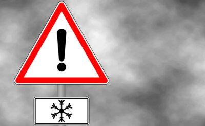 Ostrzeżenie IMGW dla całej Polski, drastyczna zmiana pogody, prognoza przewiduje ochłodzenie oraz dalsze przymrozki. Zaleca się zachowanie ostrożności