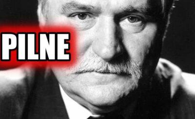 """Lech Wałęsa, PiS i kryterium uliczne: """"Musimy zrobić wszystko, aby jak najszybciej odstawić obecne władze, jeśli nie – to spotkamy się na kryterium ulicznym"""