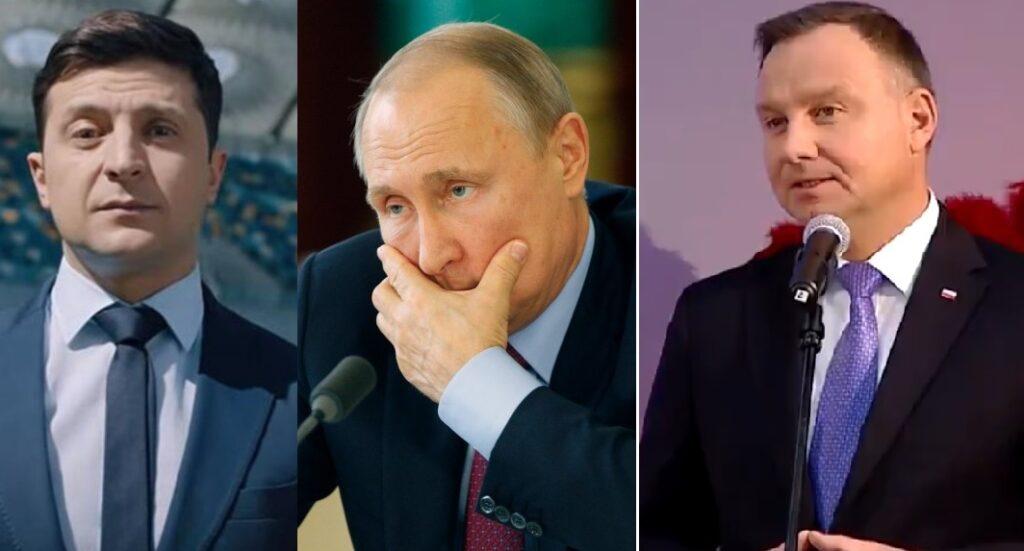 Polska i Ukraina: Andrzej Duda złożył propozycję Ukrainie, spotkał się razem z prezydentem tego kraju (Władimir Zełenski)