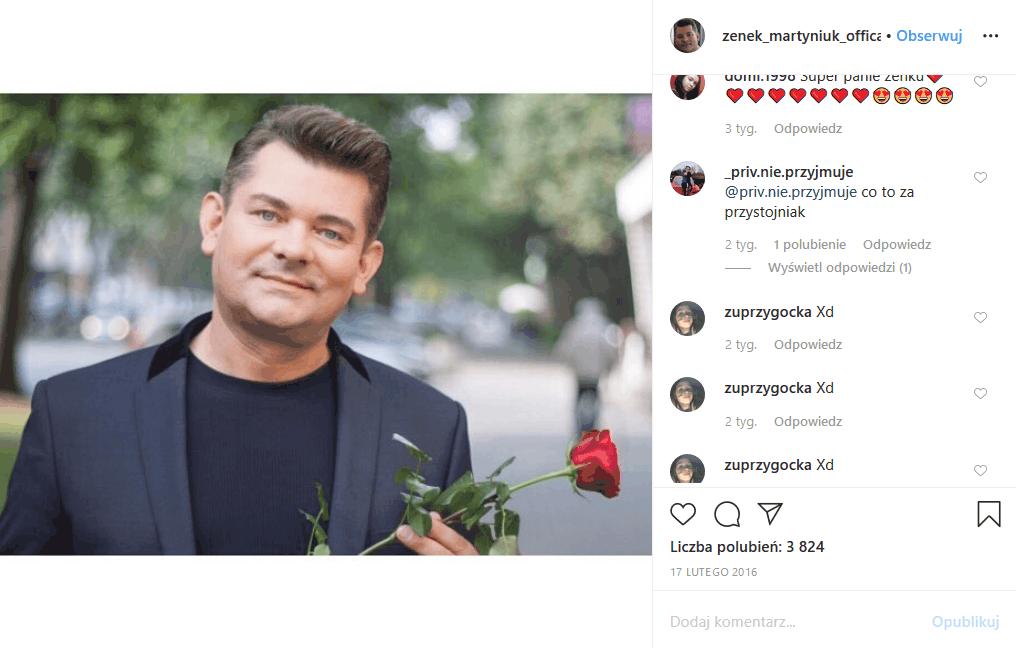 """Zenek Martyniuk (""""Oczy zielone""""), gwiazdor imprezy """"Sylwester marzeń"""", król disco polo zdobył się na szokujące fanów muzyka wyznanie."""