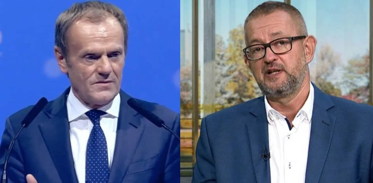 Rafał Ziemkiewicz (DoRzeczy) dla wSensie wypowiedział się o byłym premierze (Donald Tusk), wywiad zyskuje popularność, Ziemkiewicz nie przebierał w słowach