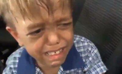 Depresja u dzieci i samobójstwa to problem. Mały Quaden choruje na chorobę o nazwie achondroplazja i dla niego życie straciło sens, co pokazuje słynny film