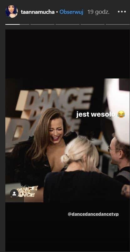 """Anna Mucha (""""M jak miłość"""") pokazała piersi na Insta przy okazji pracy nad nowym sezonem show TVP """"Dance Dance Dance"""". Fani oniemieli z zachwytu"""
