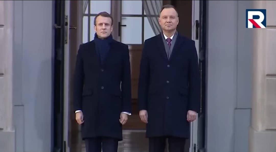 Emmanuel Macron w Polsce . Dziś Warszawa i prezydent Andrzej Duda gościły prezydenta Francji. Polska i Francja wstępują na nową drogę?