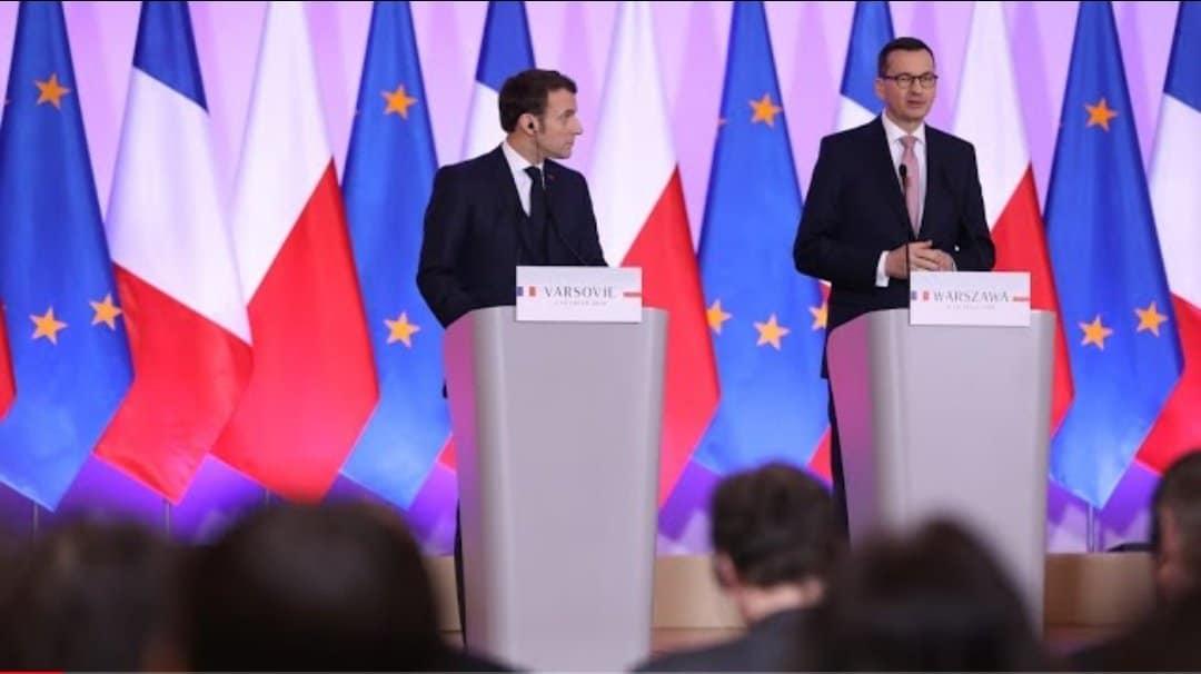 Emmanuel Macron i wizyta w Polsce. Andrzej Duda i Tomasz Grodzki (KO) spotkali się z prezydentem Francji. Dziś nie ulega wątpliwości, że Polska i Francja