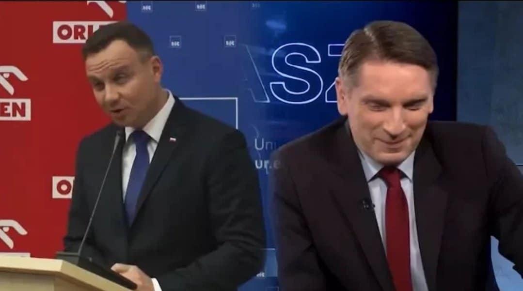 Andrzej Duda i Tomasz Lis stoją po dwóch różnych stronach podziału polskiej sceny politycznej. Prezydent Polski złożył na...