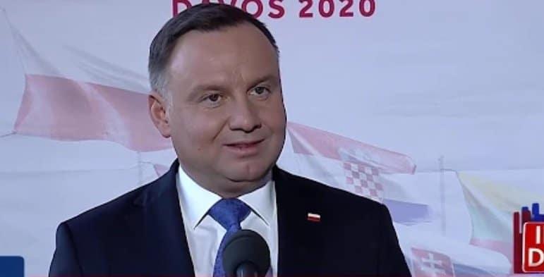 Prezydent Polski Andrzej Duda we Władysławowie: Prezydent Andrzej Duda odwiedził Władysławowo z okazji setnej rocznicy zaślubin Polski z morzem.