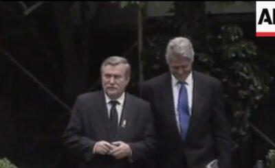 Lech Wałęsa i Bill Clinton rozmawiali ze sobą w USA dokładnie 27 lat temu. Wówczas Wałęsa przybył do Stanów Zjednoczonych jako prezydent Polski...